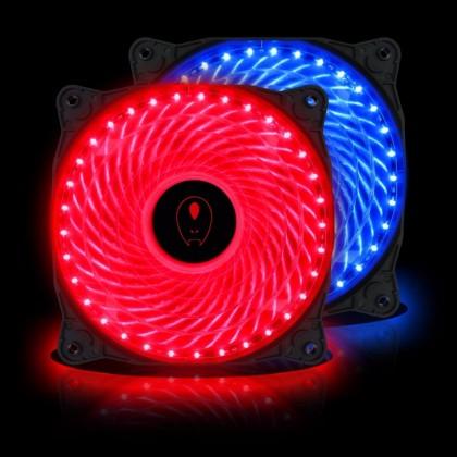AVF ARGUS 33 X LED PC Fan 120mm (Blue/Red)