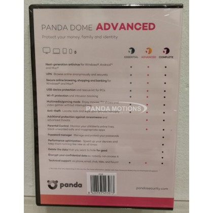 Panda Dome Advanced - 1-Year / 1-Device