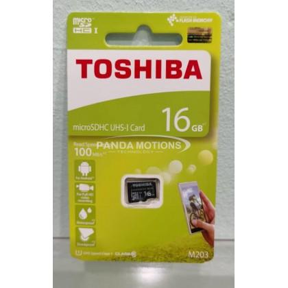 Toshiba 16GB MicroSD Card (M203)