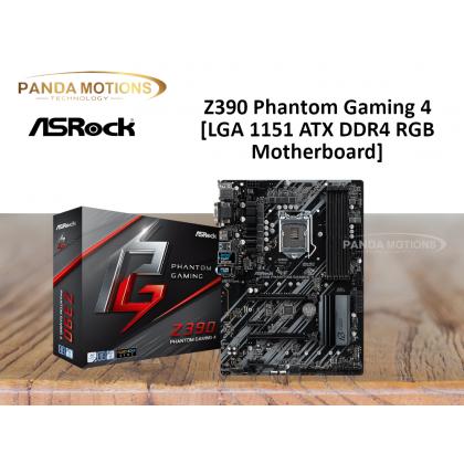 ASROCK Z390 Phantom Gaming 4 [LGA 1151 ATX DDR4 Motherboard]