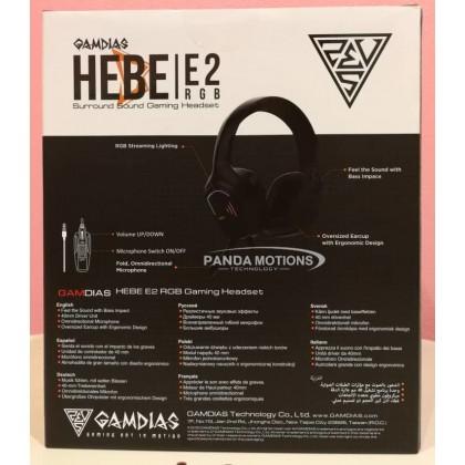 Gamdias HEBE E2 RGB Gaming Headset