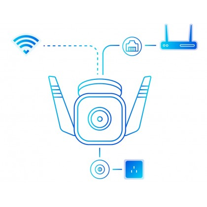 TP-Link Outdoor Security Wi-Fi Camera (Tapo C310)