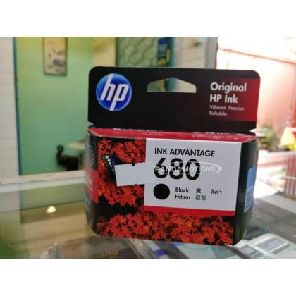 HP Original Ink Cartridge HP 680, Black (F6V27AA)