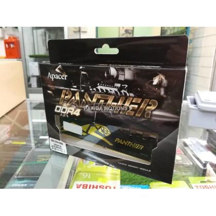 Apacer Panther 8GB 2666MHZ DDR4 for Desktop (Black/Gold)