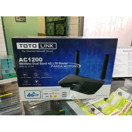 Totolink AC1200 Wireless Dual Band 4G LTE Router (LR1200)