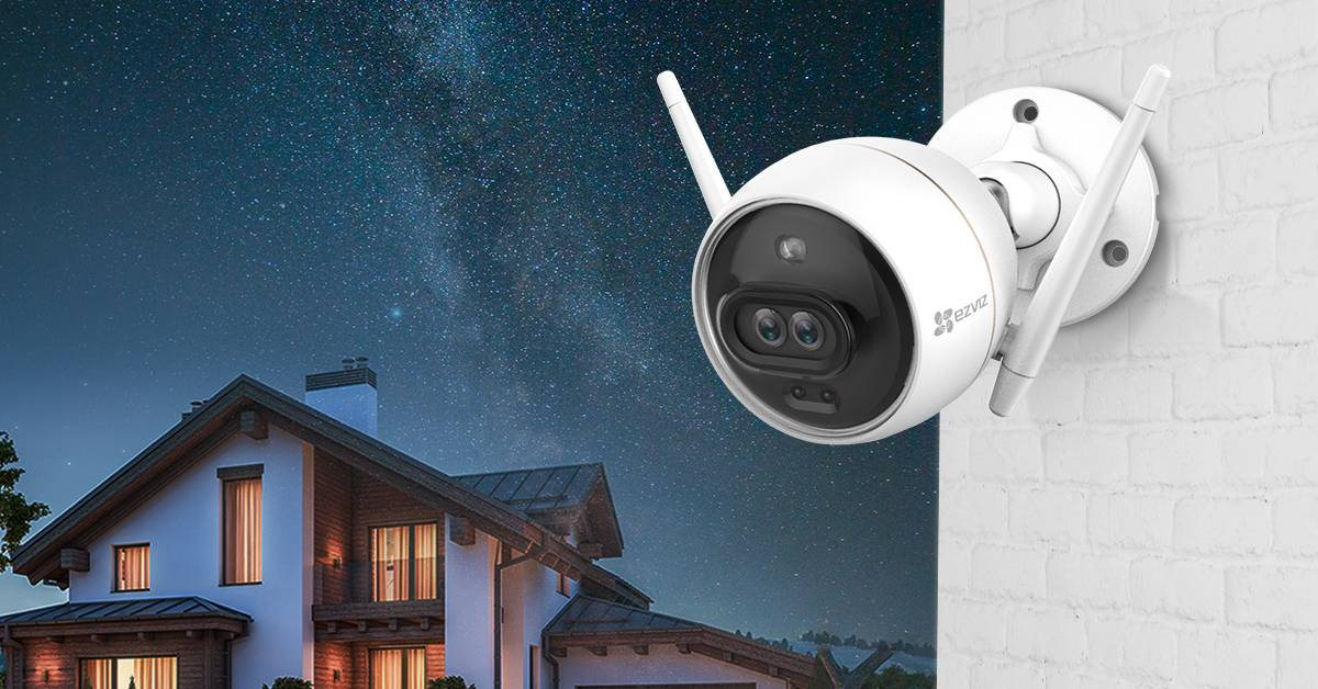 Ezviz C3X Ai-Power Dark Fighter Outdoor IP Cam